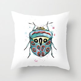 The Picasso Bug Throw Pillow