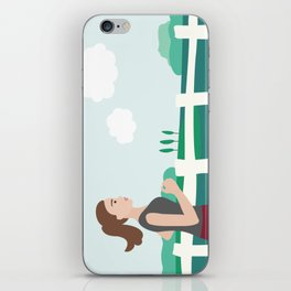 Fresh Air Runner iPhone Skin
