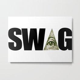 SW▲G Shirt Metal Print