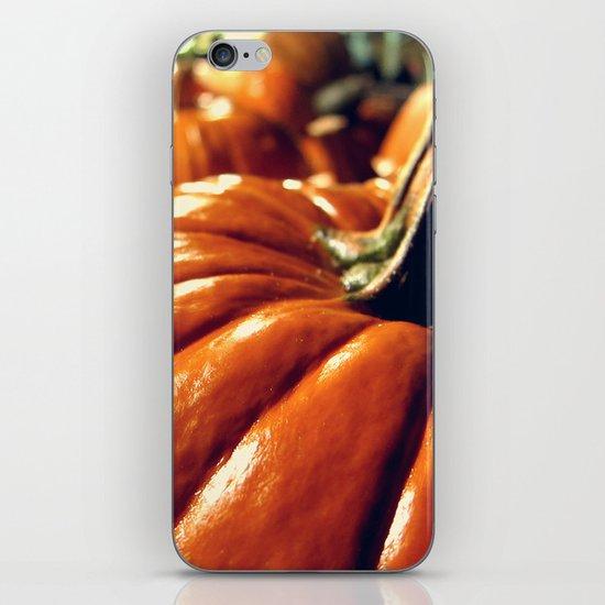 Shiny Pumpkins iPhone & iPod Skin