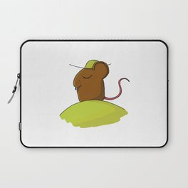 tired mouse Laptop Sleeve