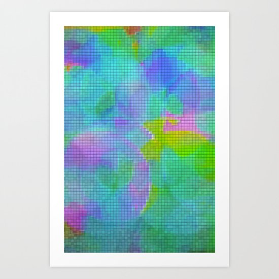 Squares#1 Art Print