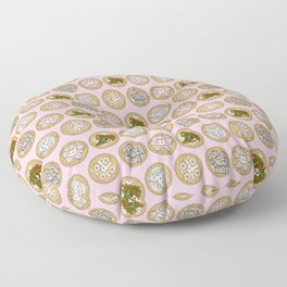 Dim Sum Pink Floor Pillow