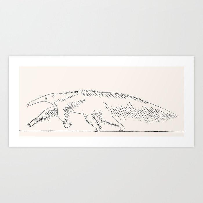 The Anteater Art Print