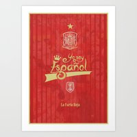 spain Art Prints featuring Spain by liamhohoho