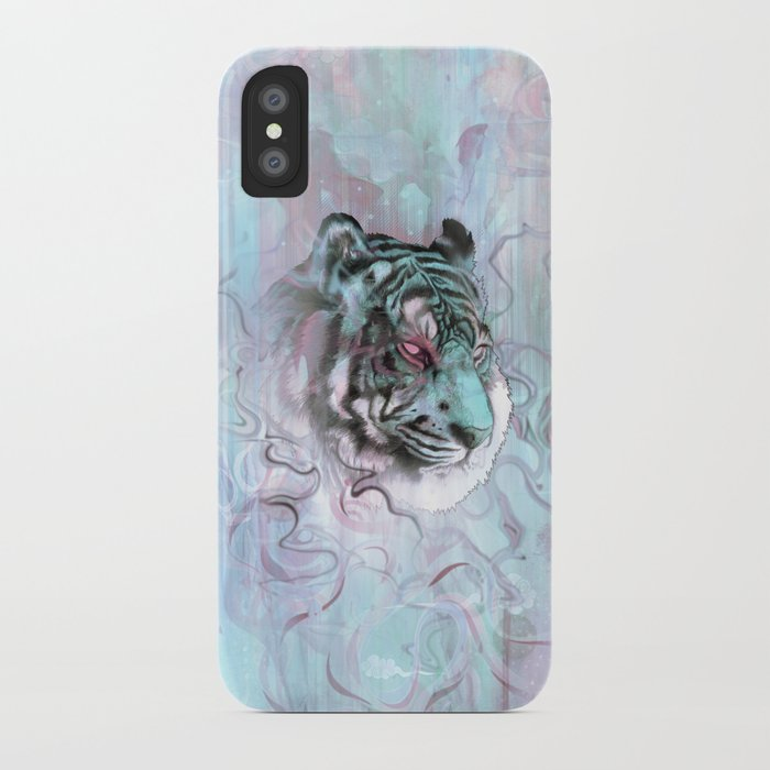 Illusive By Nature (Blue) iPhone Case