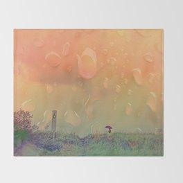 Rain in September Throw Blanket