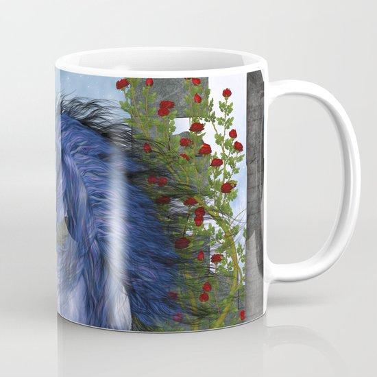 Blue Unicorn 2 Mug