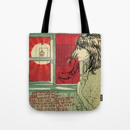hang this girl Tote Bag