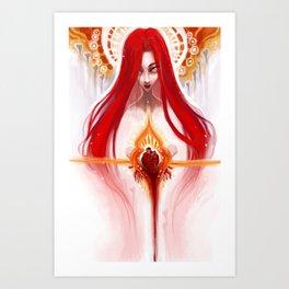 My Dearest Valentine 2013 Remix Art Print