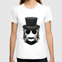 top gun T-shirts featuring Gun Face by BuySkullCat