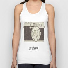 Say Cheese Unisex Tank Top