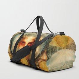 """Art Deco Retro The Chimera"" Duffle Bag"