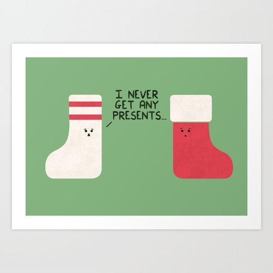 Socks To Be You Art Print