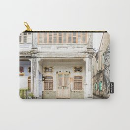 George Town, Penang Shop House Street Scene Carry-All Pouch