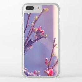 Early Spring Love 2 Clear iPhone Case