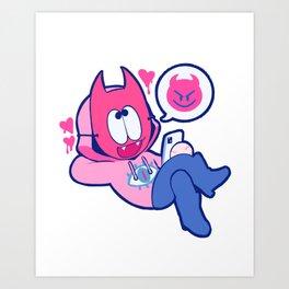 pastel boyfriend no.2 Art Print