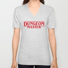 Dungeon Master DnD D&D Dungeons and Dragons Inspired Unisex V-Neck