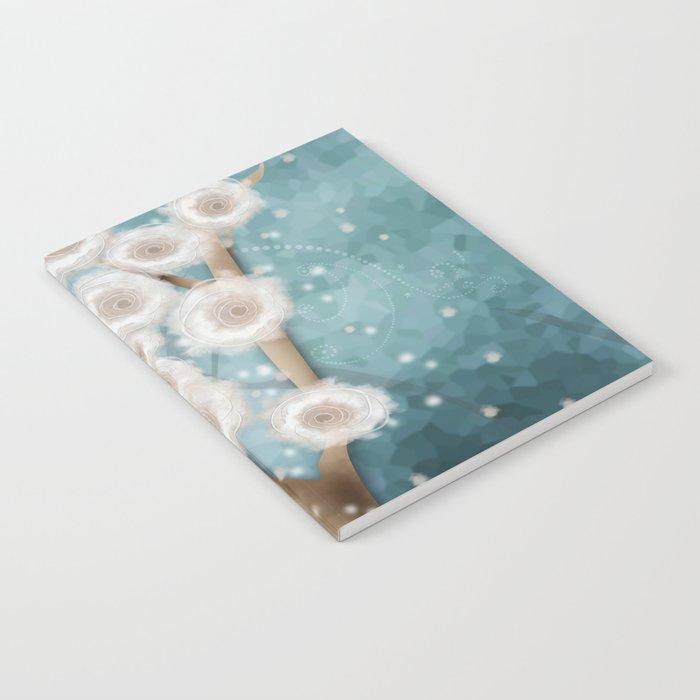 New year's design . Winter. Notebook