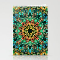 kaleidoscope Stationery Cards featuring Kaleidoscope by Klara Acel