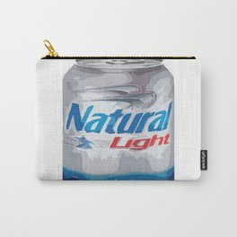 Natural Light Beer Can Carry-All Pouch