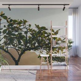 Golden Tree Wall Mural