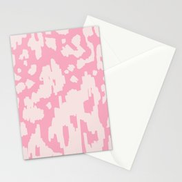Modern Abstract Ikat Pink P  #homedecor Stationery Cards