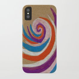 snoozy spiral iPhone Case