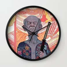 Oyabun Wall Clock