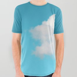 Happy Cloud All Over Graphic Tee