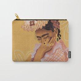 Frida Kahlo Portrait Carry-All Pouch