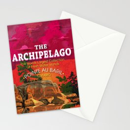 The Archipelago  Stationery Cards