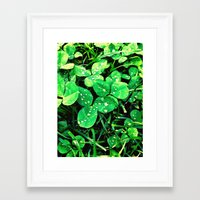irish Framed Art Prints featuring Irish by Kelly Dillon