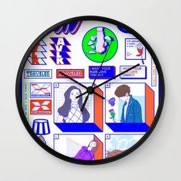 f(x) — 4 Walls (Sticker Pack Ver.) / Spectrum Wall Clock