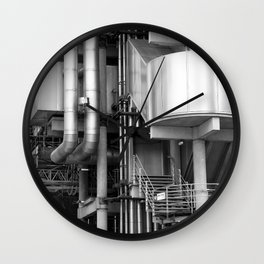 Lloyds building stucture Wall Clock