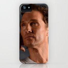 Matthew McConaughey iPhone Case