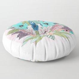 Colourful Bouquet Floor Pillow