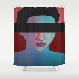 EMOTIONLESS Shower Curtain