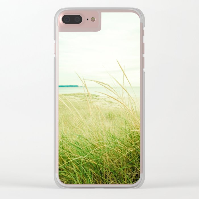 September at the Beach Clear iPhone Case