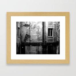 Alleyways & Shadows Framed Art Print