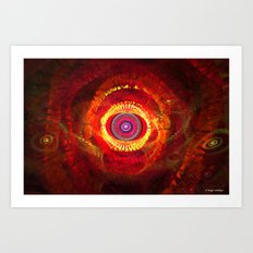 Eye of Desire Art Print