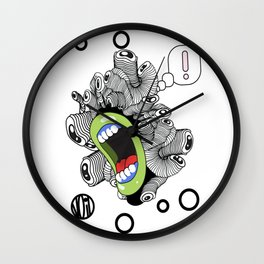 ...! Wall Clock