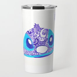 54. Henna STITCH for Easter Funny Face Travel Mug