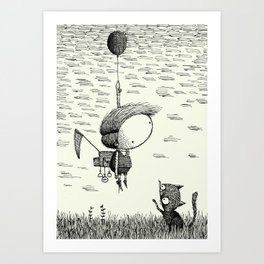 'Balloon' Art Print