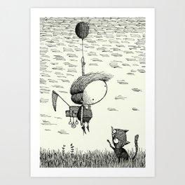 'Balloon' Art Print