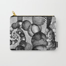 STRANDED/An Abstract Carry-All Pouch