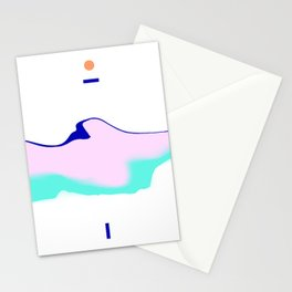 Mount Parallax Stationery Cards