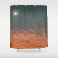 silence of the lambs Shower Curtains featuring Silence by Tammy Kushnir