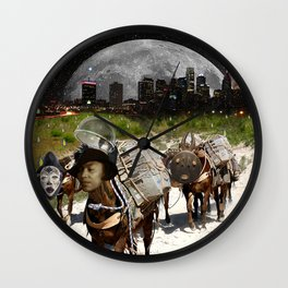 Black Women Are The Mules Of The Earth - Zora Neale Hurston Wall Clock