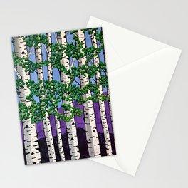 Summer aspens Stationery Cards